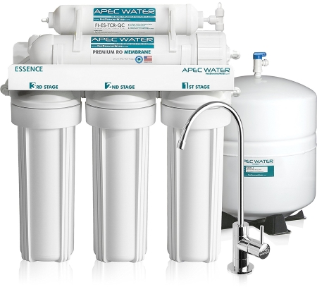 APEC Top Tier 5-Stage Ultra Safe Reverse Osmosis Drinking Water Filter System - ESSENCE ROES-50
