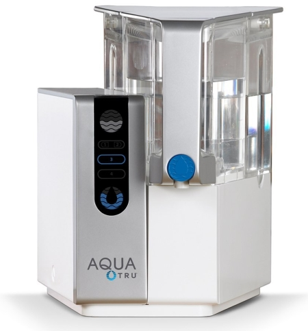 AquaTru Countertop Water Filter Purification System 4 Stage