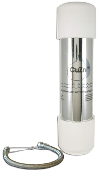 CuZn UC-200 Under Counter Water Filter - 50K Ultra High Capacity