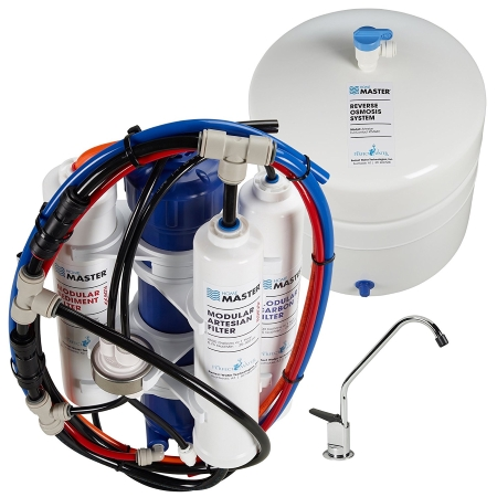 Home Master TMAFC Artesian Full Contact Undersink Reverse Osmosis Water Filteration