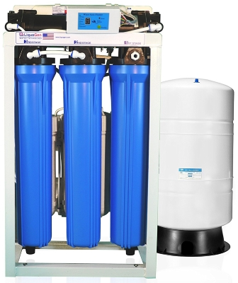 LiquaGen - Reverse Osmosis Deionization Commercial Grade Water Filtration System