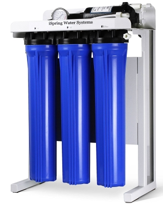 iSpring RCB3P Commercial Grade Reverse Osmosis Water Filter System