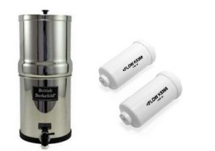 Big Berkey Water Filter System With 2 9-Inch White Ceramic Filters