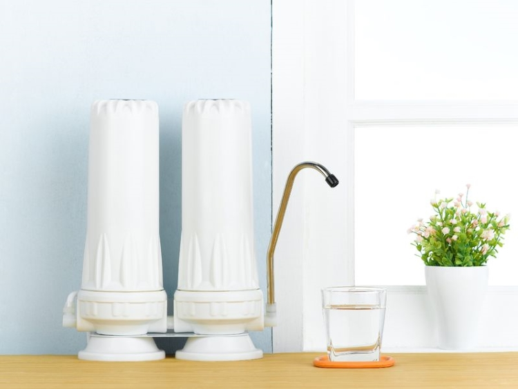 Countertop Home Water Filtration System
