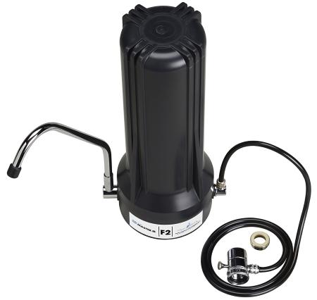 Home Master TMJRF2-BK Jr F2 Sinktop Water Filtration System