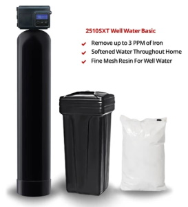 Fleck 2510SXT Water Softener System - Well Water